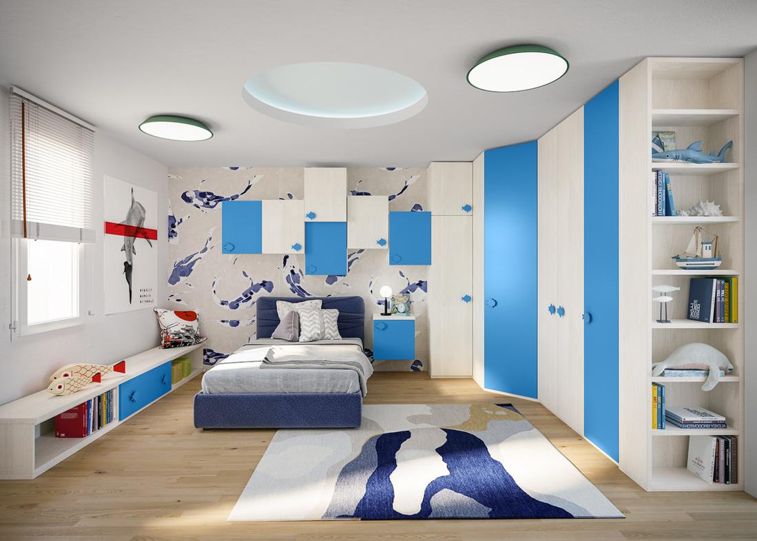 Chambre pour enfant JOB Giessegi
