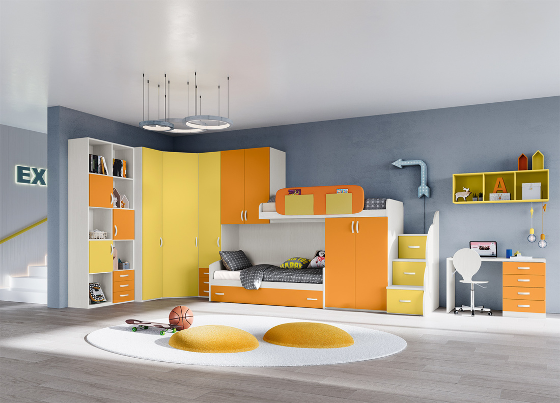 Chambre pour enfant Fly Giessegi Caen