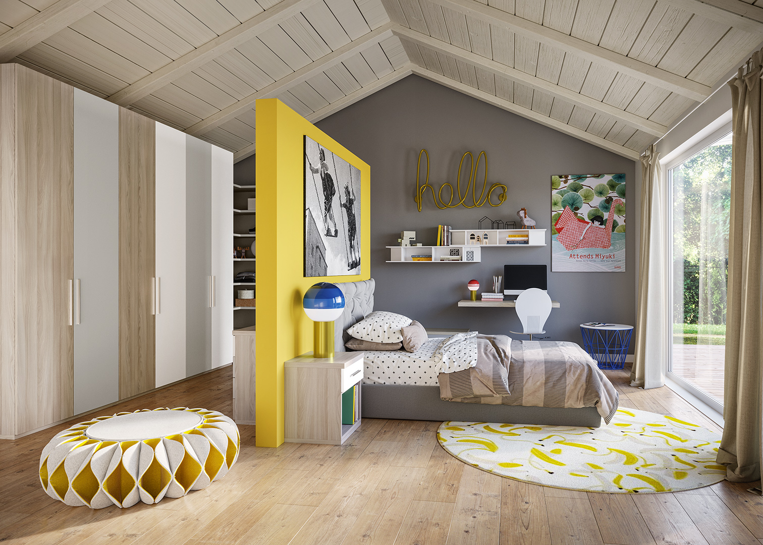 Chambre pour enfant TOP Giessegi