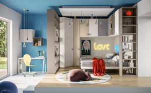 Chambre pour enfant solutions Pont  Giessegi