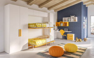 Chambre pour enfant transformable Giessegi